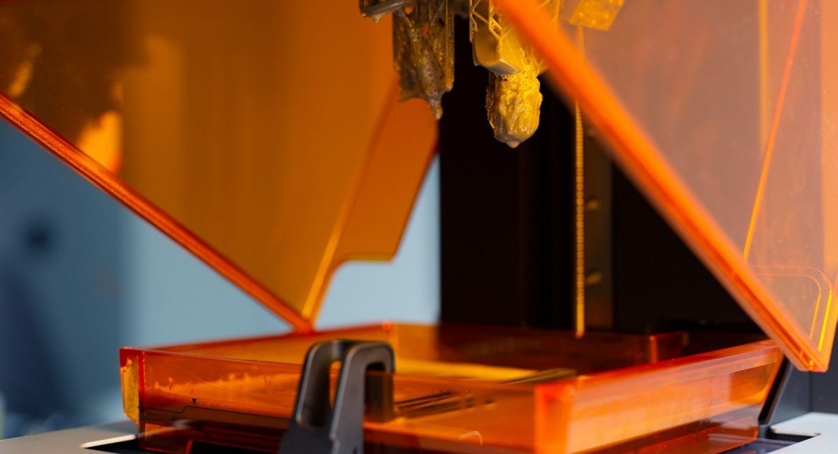 impresora de resina
